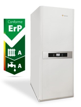 Le groupe thermique gaz condensation for Chaudiere ventouse ou cheminee